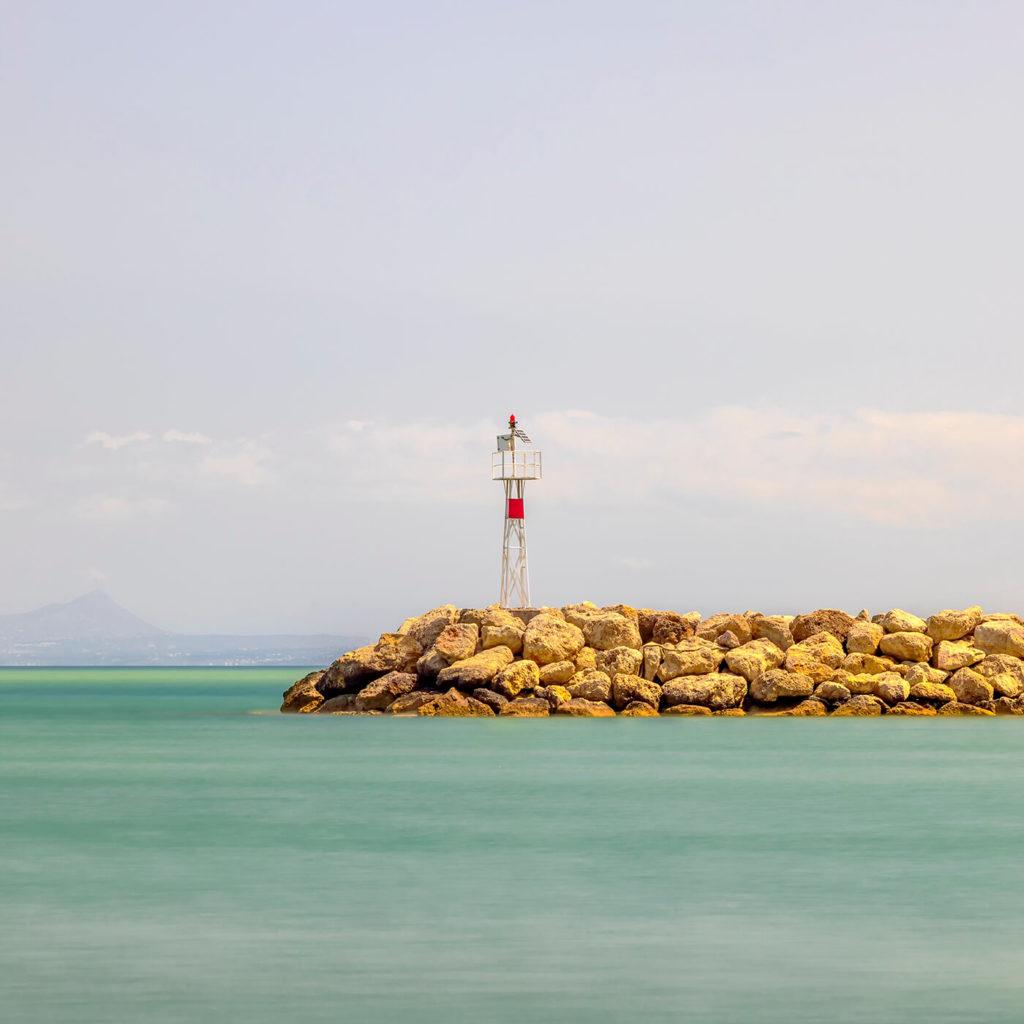 Light Beacon, Kolymvari, Crete, Greece
