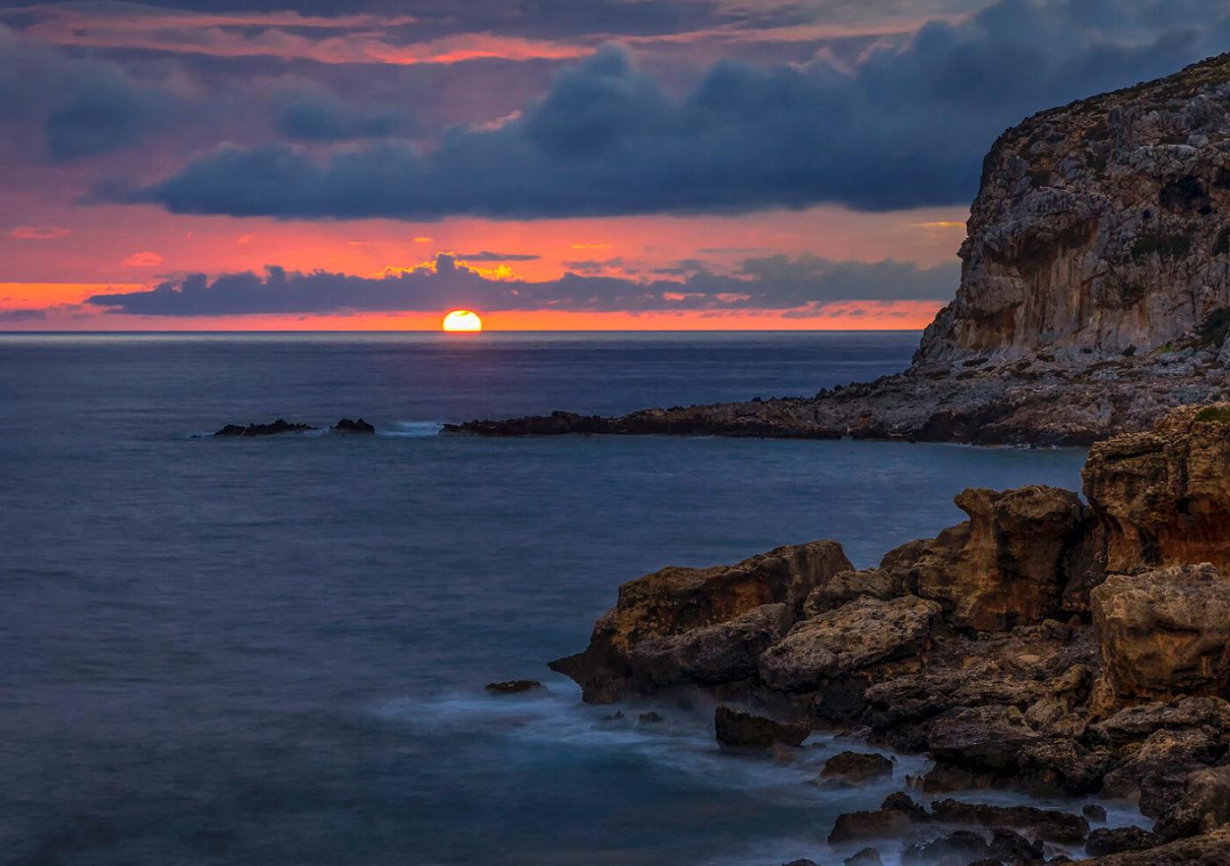 Sunset, Falassarna, Crete, Greece