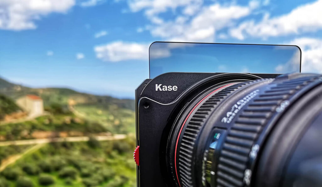 Kase filters in use during my visit to Crete, Greece in April