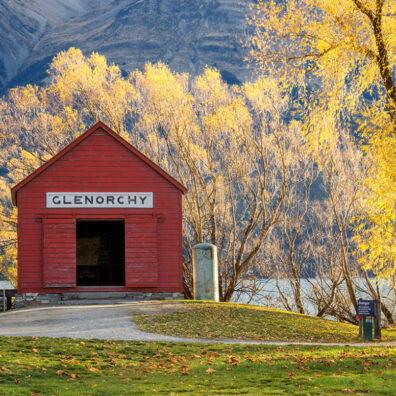Railway Shed, Glenorchy, New Zealand