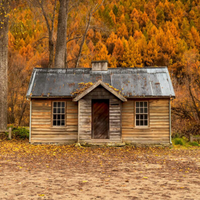 Old Police Hut, Arrowtown, New Zealand