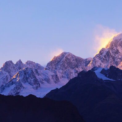 Mt Cook Summit, New Zealand