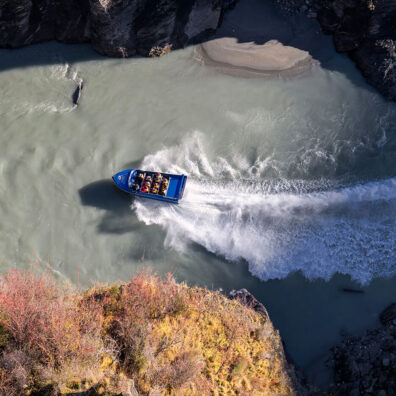 Jet Boat, Shotover River, Skippers Canyon, New Zealand