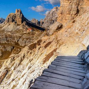 Rifugio Locatelli, Tre Cime di Lavaredo, Dolomites, Italy
