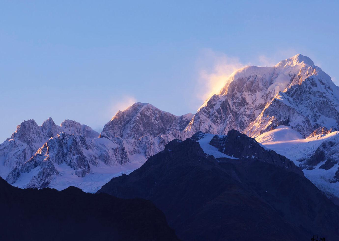 Mountain Summit, New Zealand