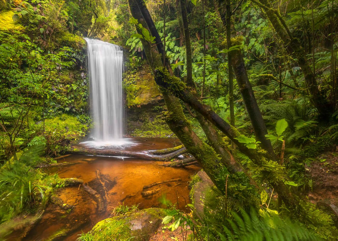 Koropuku Falls, Catlins, New Zealand