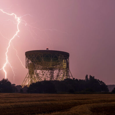 Lightning Strike, Jodrell Bank