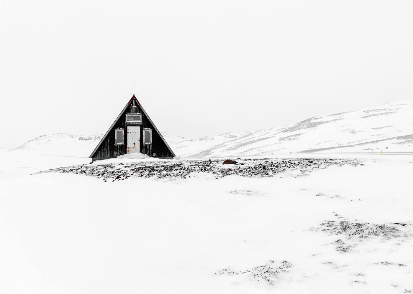 Emergency Hut, Iceland