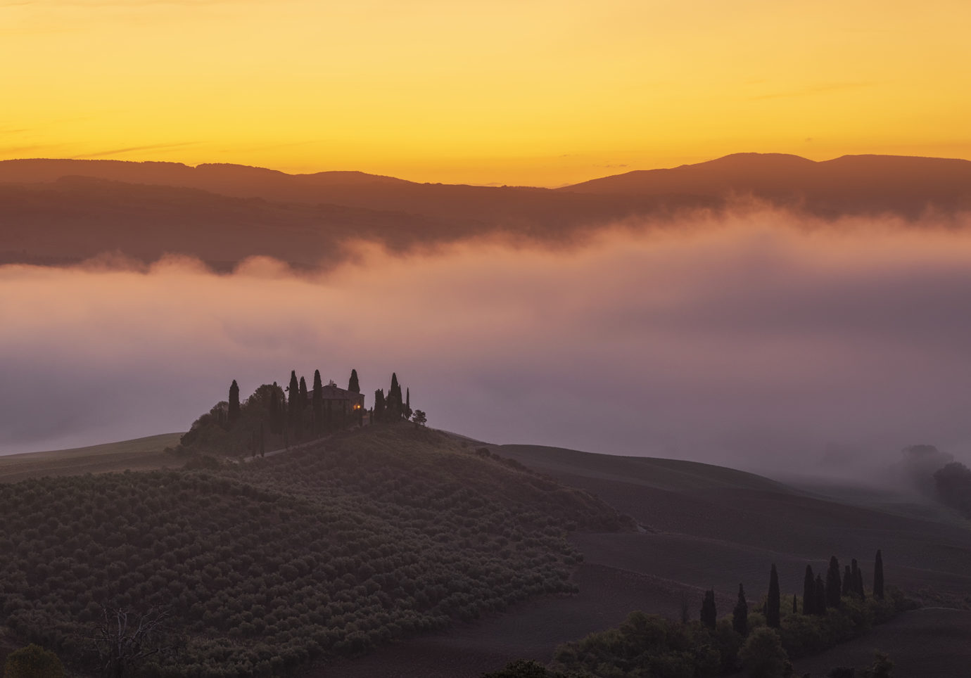 Podere Belvedere, Tuscany, Italy