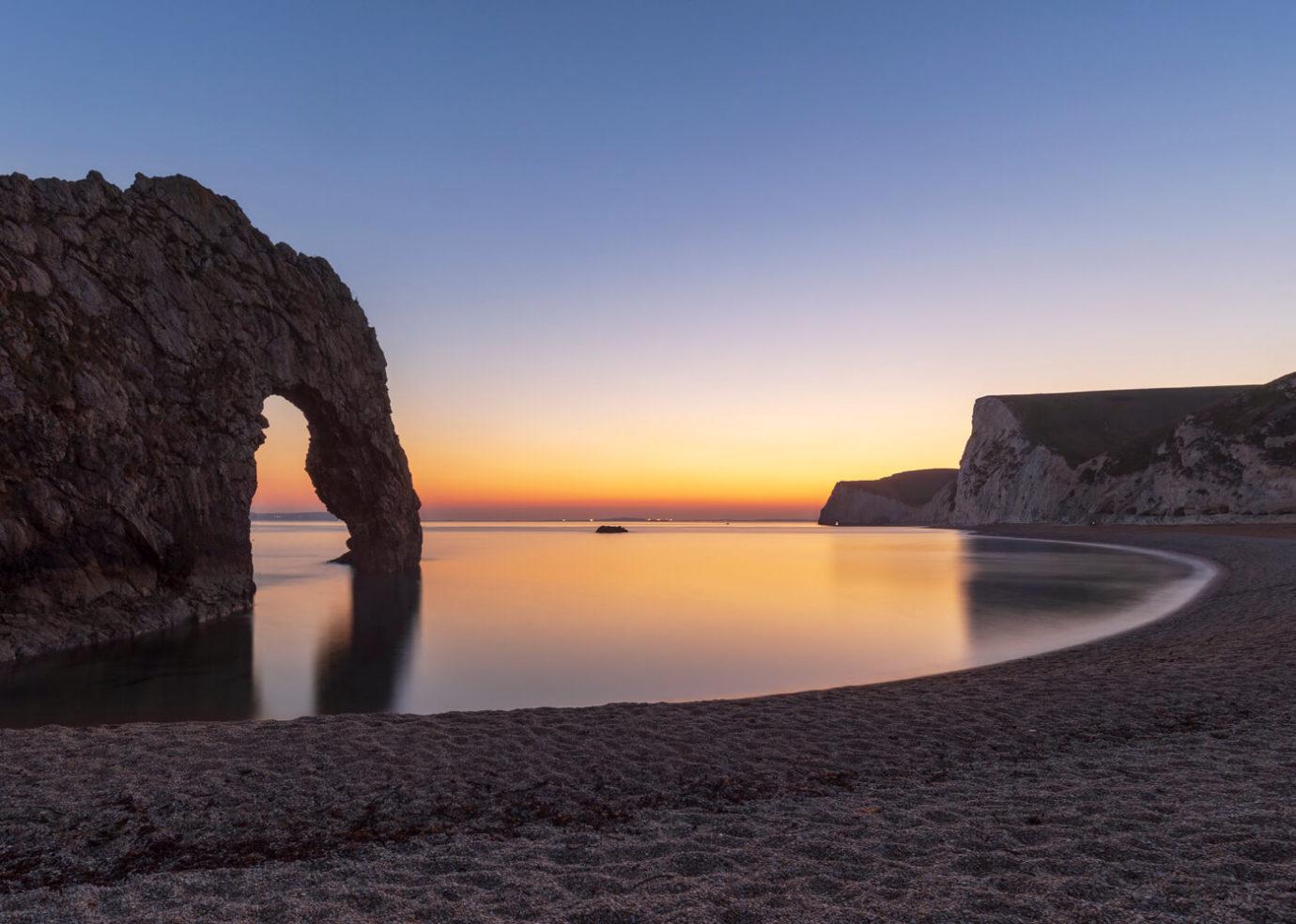 Sunset, Durdle Door, Dorset