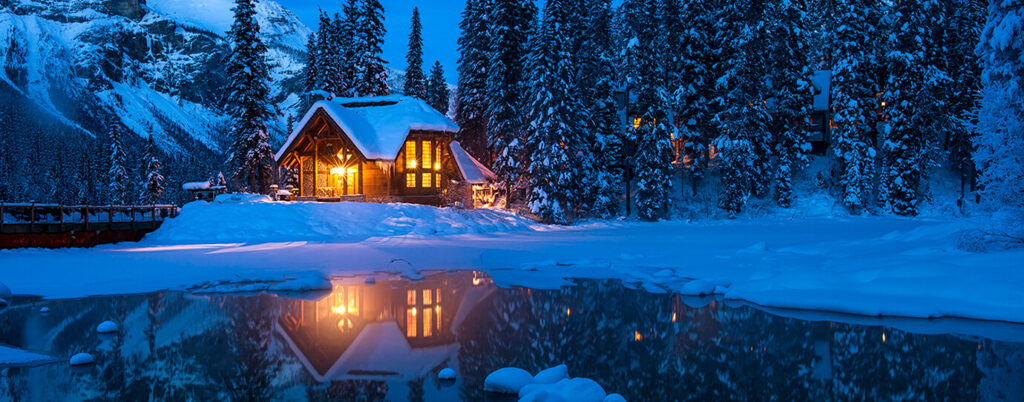 Emerald Lake Lodge, Yoho National Park, Canada by Ed Rhodes Photography