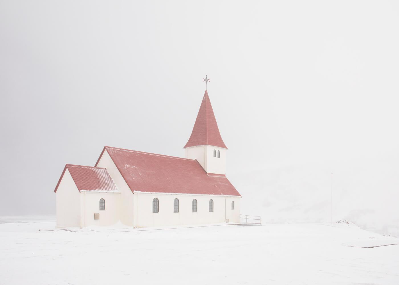 Myrdal Church, Vik, Iceland