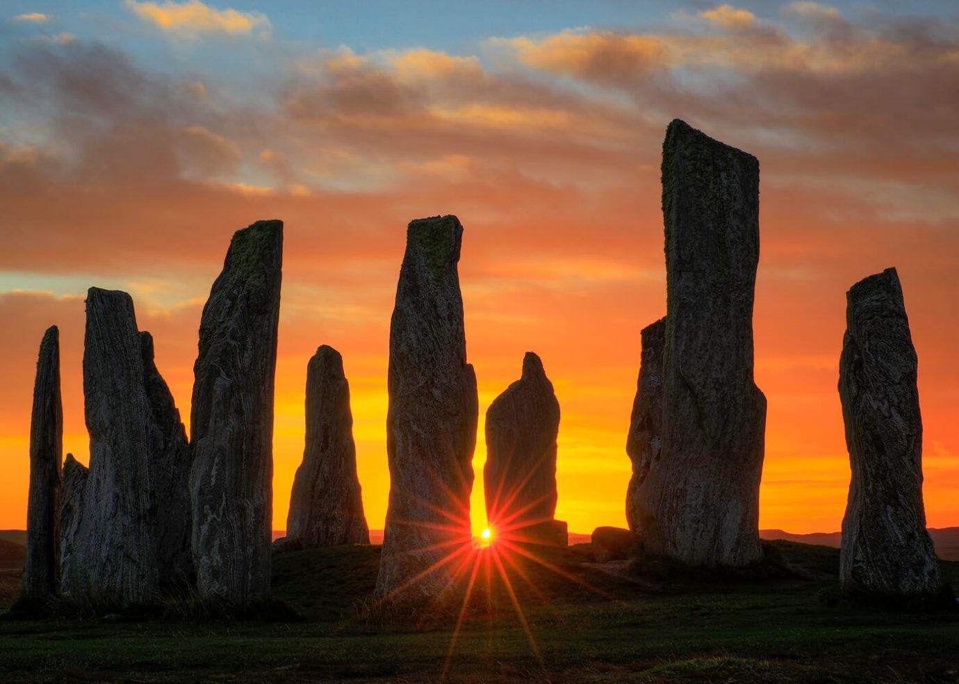 Sunrise, Callanish Stones, Isle of Lewis