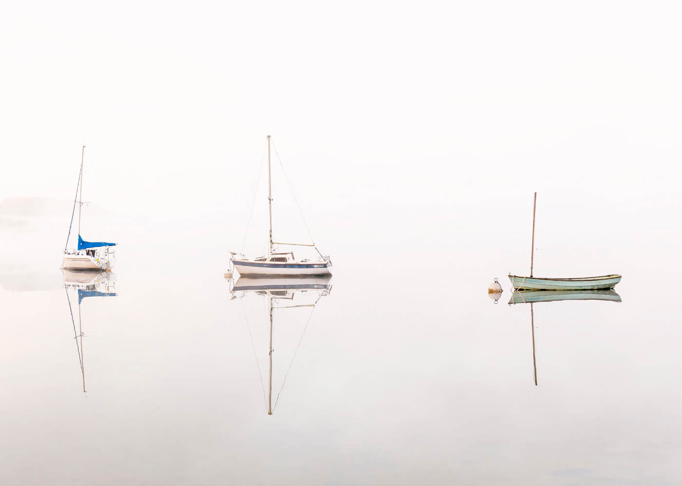 Misty Morning, Waterhead, Lake District