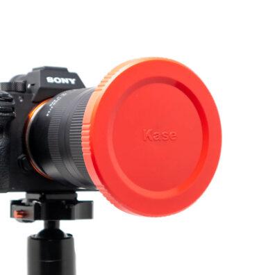 Kase K9 Red Lens Caps