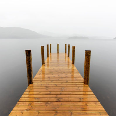 New Ashness Landing Pier, Derwentwater, Lake District