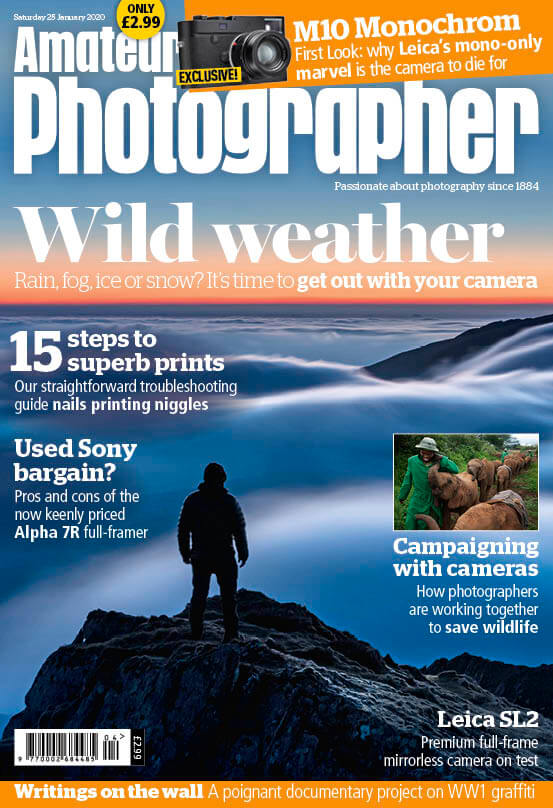 Amateur Photographer Magazine Front Cover