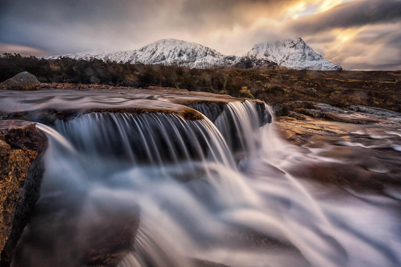 Cauldron Falls, Rannoch Moor, Glencoe, Scotland - Melvin Nicholson Photography