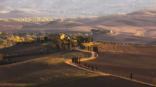 Gladiator Rd, Pienza, Tuscany, Italy