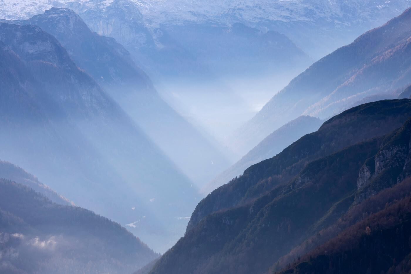 Blue Hour, Mangart Pass, Slovenia