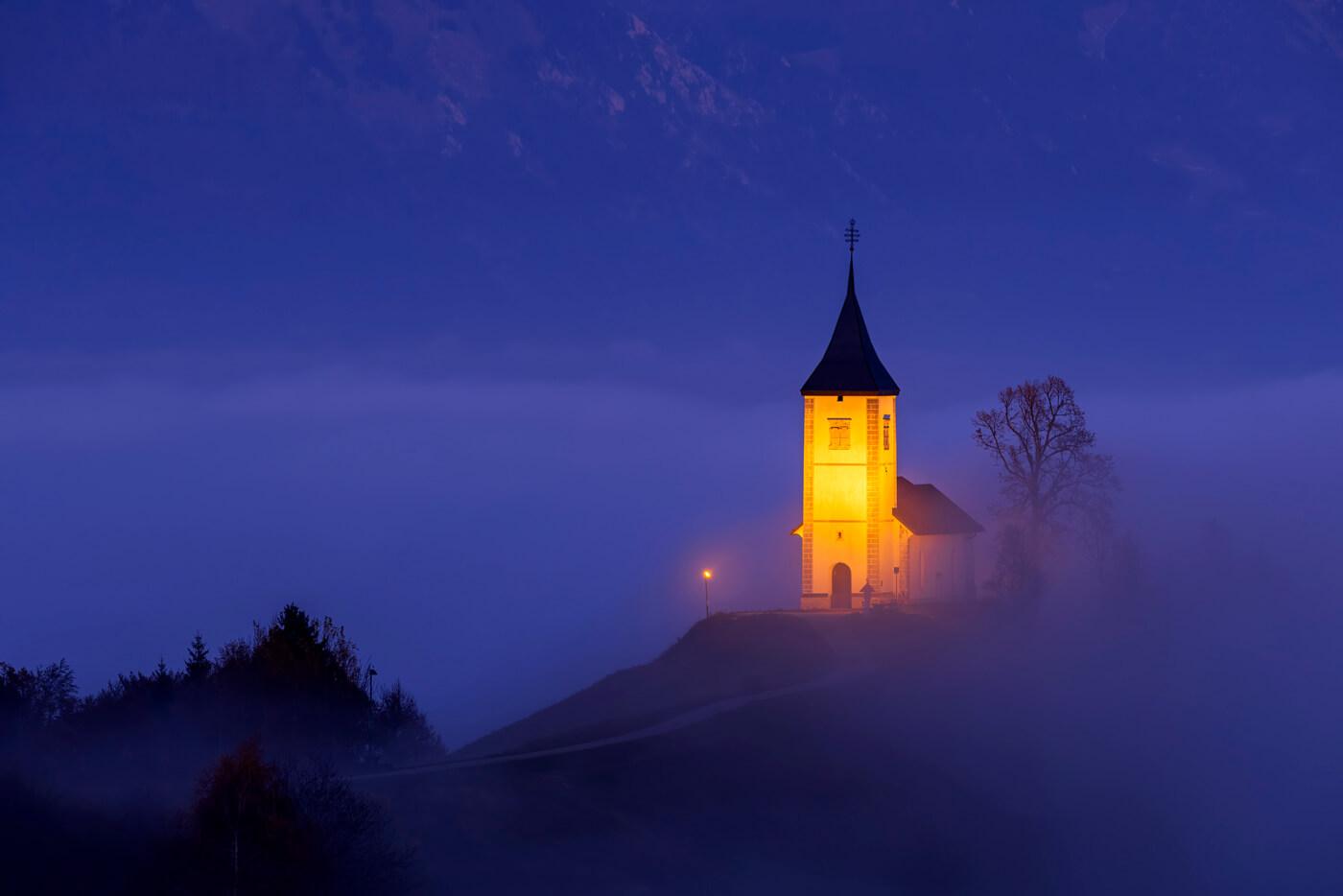 St Primus Church, Jamnik, Slovenia
