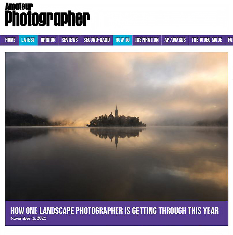 Amateur Photographer Magazine, Geoff Harris Interviews Melvin Nicholson