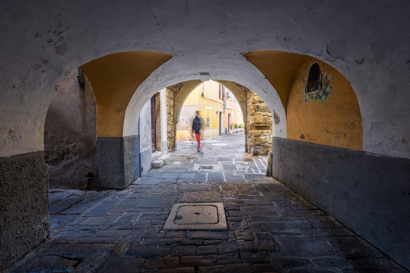 Arches, Piran, Slovenia