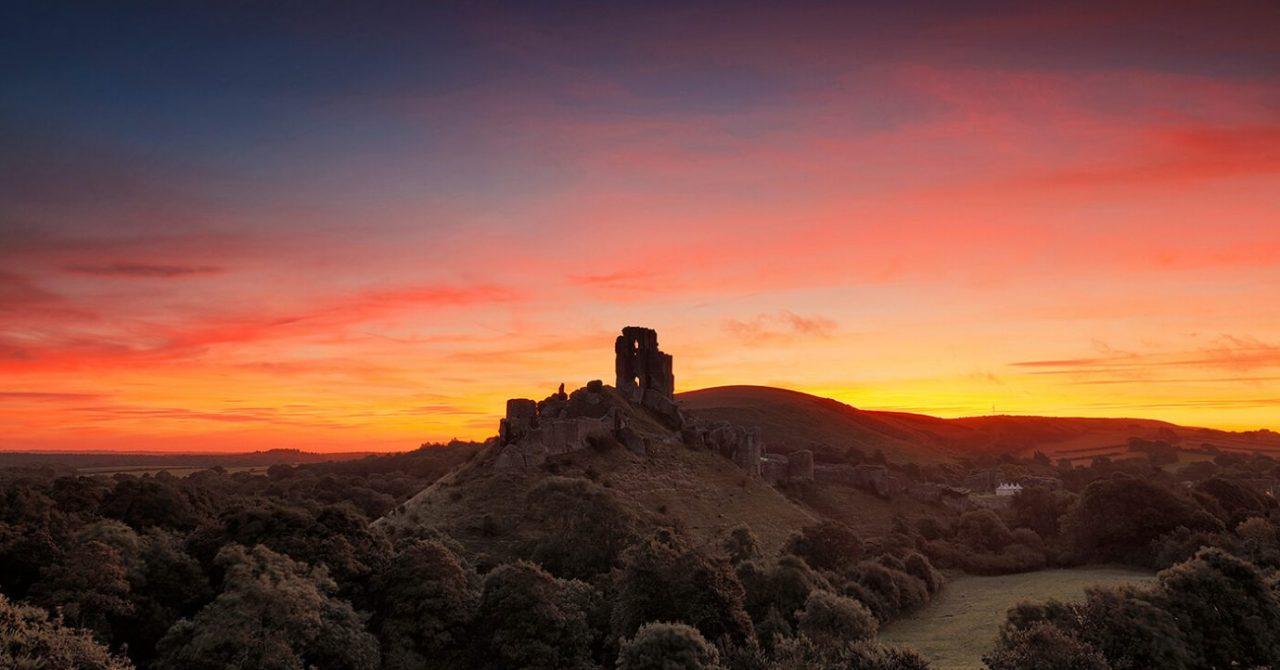 Corfe Castle, Dorset, Melvin Nicholson